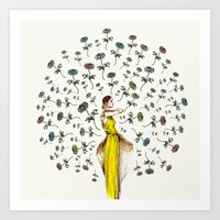 Paris Summer | The Flowe… Art Print