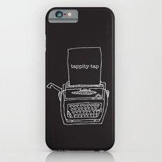 Vintage typewriter negative iPhone 6 Slim Case