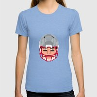 Faces- New England Womens Fitted Tee Tri-Blue SMALL