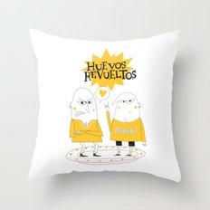 Huevos Revueltos Throw Pillow