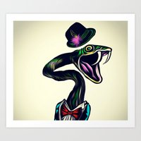 Lowly Worm Art Print