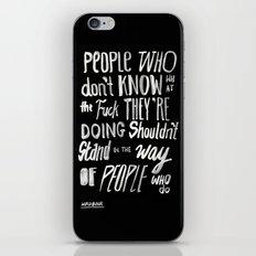 PEOPLE iPhone & iPod Skin