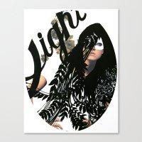 Make Light Canvas Print
