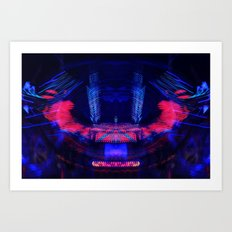 At the Show - Abstract Art Print