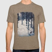 The Raven Who Stole My H… Mens Fitted Tee Tri-Coffee SMALL