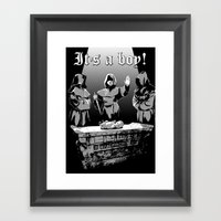 It's A Boy! Framed Art Print