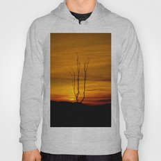 Lone tree sunset Hoody