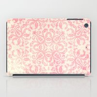 Shabby Arabesque Pattern iPad Case