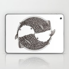 Pisces (black and white) Laptop & iPad Skin