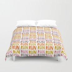 Pattern Project #19 / Run Run Run Duvet Cover