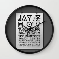 Eye Test - JAY Z Wall Clock