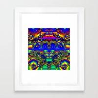 Blow Your Mind Framed Art Print
