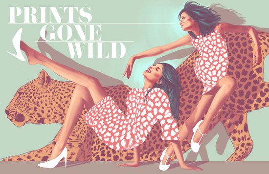 Prints Gone Wild Art Print