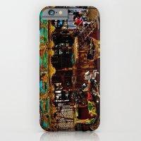 Merry Go Round Paree iPhone 6 Slim Case