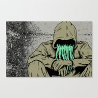 The Cephalid Canvas Print