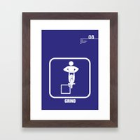 08_iconobmx_D Framed Art Print