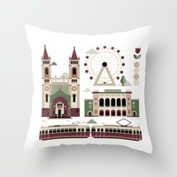 Vienna / Wien Throw Pillow