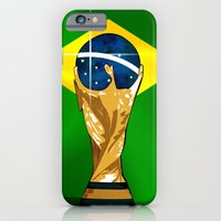 iPhone & iPod Case featuring Brazil 2014 by The Vector Studio