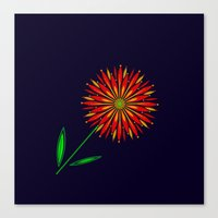 The Colors Of Summer Canvas Print