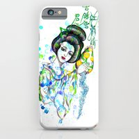 iPhone & iPod Case featuring Aquarius, The Freedom Lover: Jan 21 - Feb 19 / Original gouache on paper by Zhou