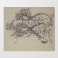 Yael-Segment90 Canvas Print
