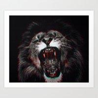 LIONBLOOD Art Print