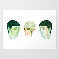Vulcanatomy Art Print