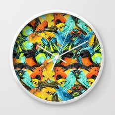 Colour Party II Wall Clock