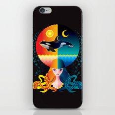 Dream - Sea Day & Night iPhone & iPod Skin