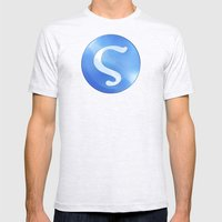 Strategos Mens Fitted Tee Ash Grey SMALL