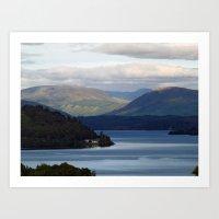 Loch Awe 2 Art Print