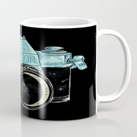 look the moon Mug