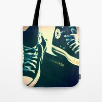Converse Sneakers Tote Bag