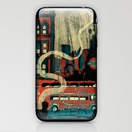 iPhone & iPod Skin featuring London  by Peter Coleman
