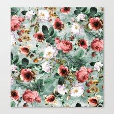 Rpe Seamless Floral Pattern I Canvas Print