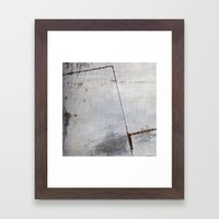 Metal Sky VI Framed Art Print