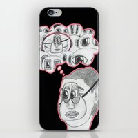 with your eyes closed iPhone & iPod Skin