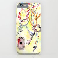 iPhone & iPod Case featuring Keys by Glashka