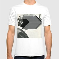 Bastardize | Perry Mens Fitted Tee White SMALL