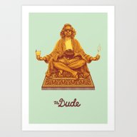 The Lebowski Series: The… Art Print