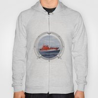 Port Hole View Hoody