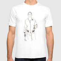 Drive Mens Fitted Tee White SMALL