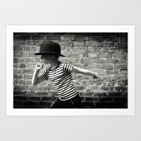 Juvenile Jazz 5 Art Print