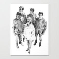 Star Trek - Let's see V'ger Canvas Print