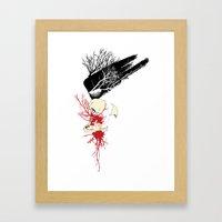 Trash Polka Framed Art Print