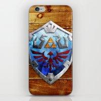 The Hylian Shield iPhone & iPod Skin