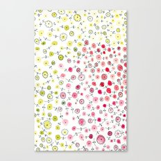 Tiny flowers Canvas Print