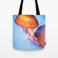 Large Jellyfish Tote Bag