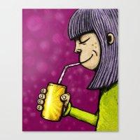 Lemonade 3/3 Canvas Print