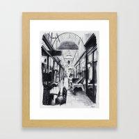 Passage des Panoramas - Paris Framed Art Print